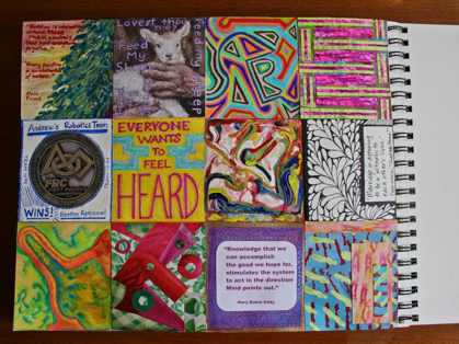 Polly Castor Box-a-Day Art Journal