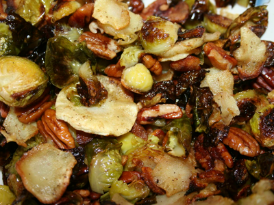 Roasted Brussels Sprouts-Polly Castor photography