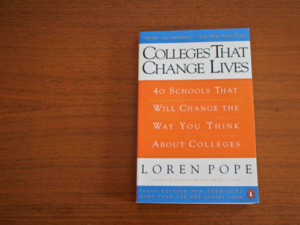 Book Review: Colleges That Change Lives