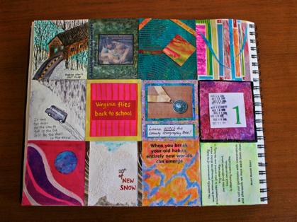 Box-a-day Art Journal