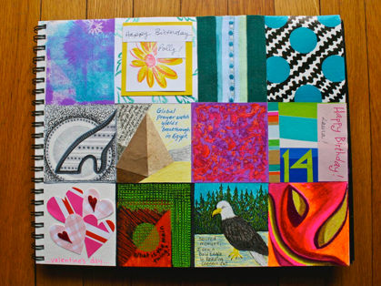 Box-a-day Art Journal