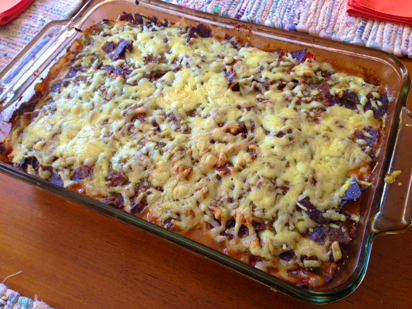 Recipe for Tortilla Chip Casserole