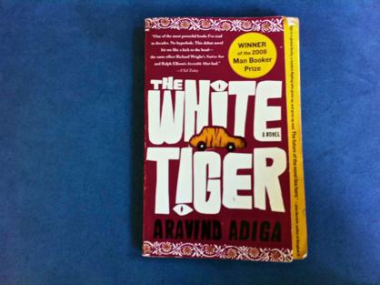 The White Tiger book