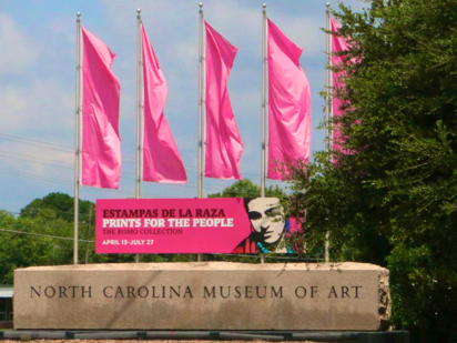 visit North Carolina Museum of art
