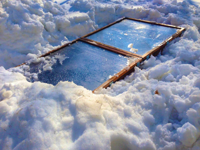 winter cold frame