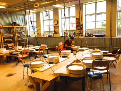 Juniata's Ceramics Studio