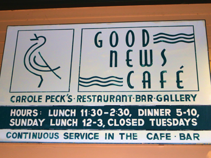Good news Cafe Review