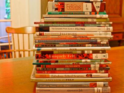 felting books