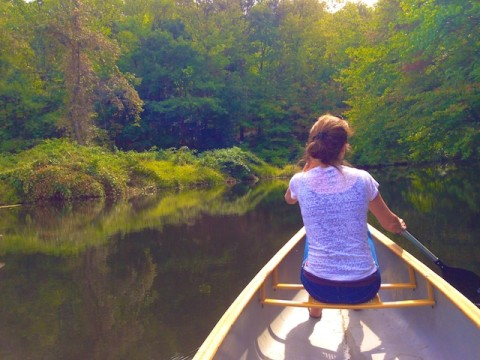Canoeing in Connecticut