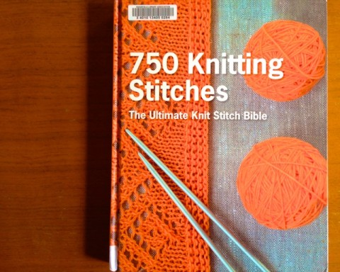 Gift idea for knitters, 750 Knitting stitches