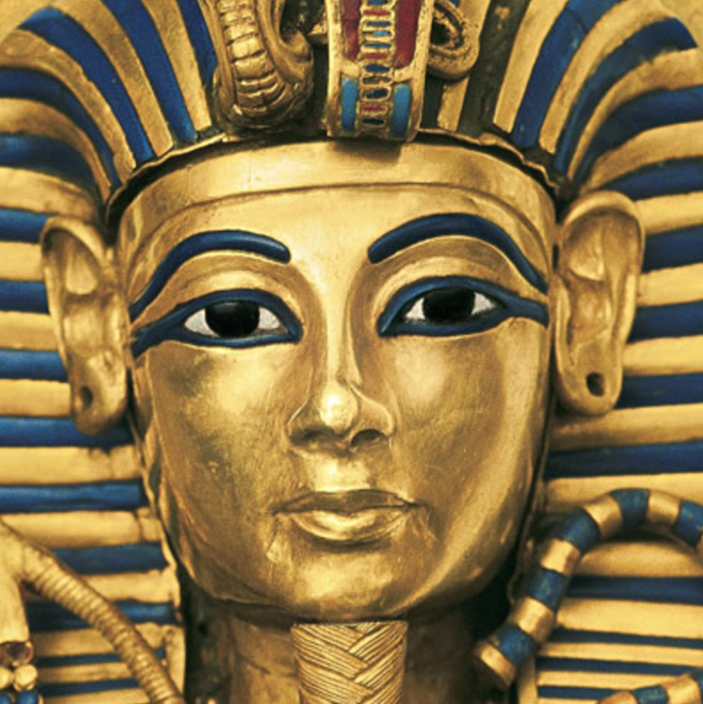 (King Tut's Burial Mask Compliments of Google Images)
