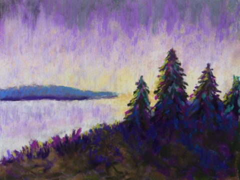 three painting exercises