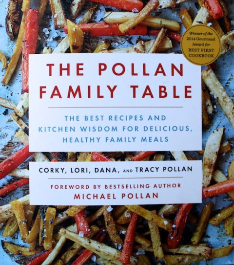 book review the Pollan Family Table cookbook
