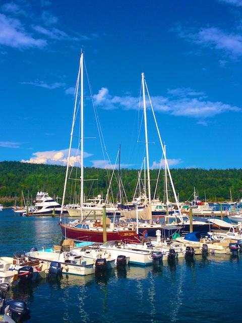 Northwest Harbor Marina Poem