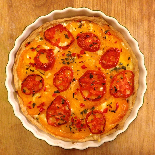 recipe tomato tart