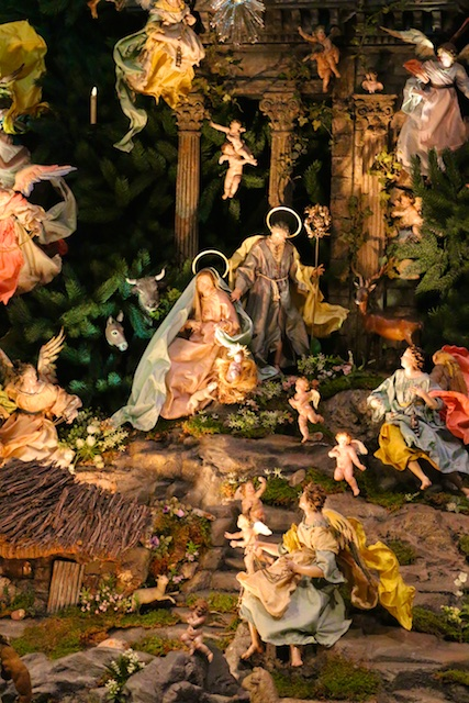 Christmas Creche at the MET