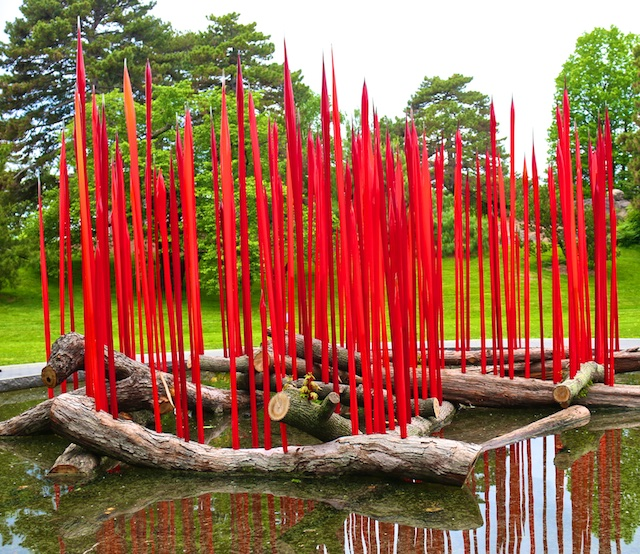 Chihuly At The New York Botanical Gardens Polly Castor