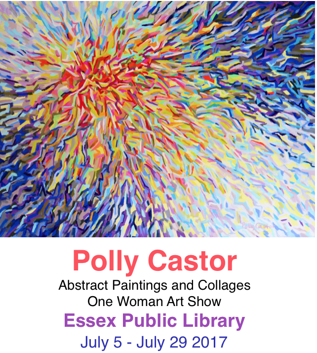 My One Woman Show Opens at the Essex Public Library