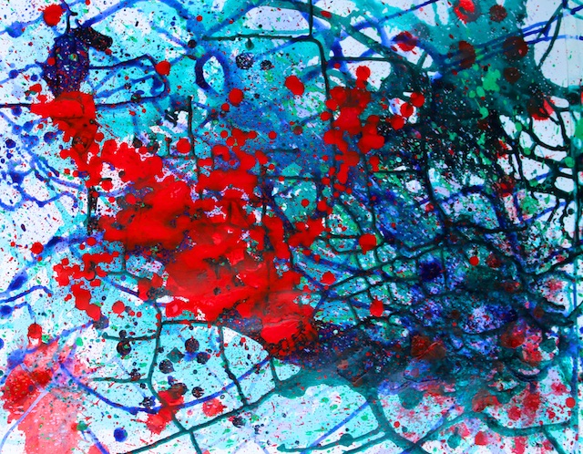 Overcoming Subtleties (acrylic) by Polly Castor