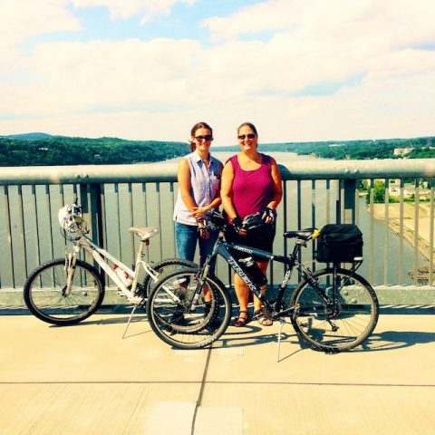 Duchess Rail Trail Bike Ride Over the Hudson