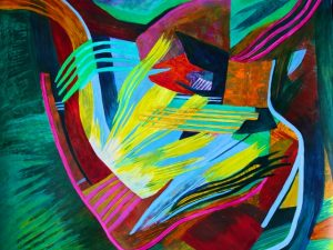 Chambers of the Heart (New Large Abstract Painting)
