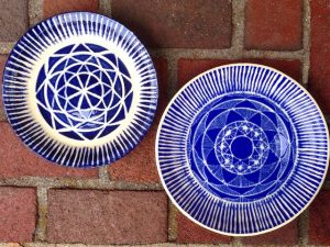 Sgraffito Pottery Commissions Delivered