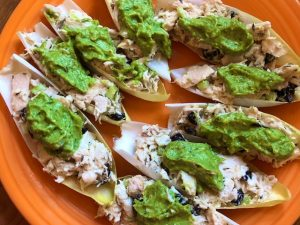 Endive Tuna Boats with Avocado Pesto (Recipe)