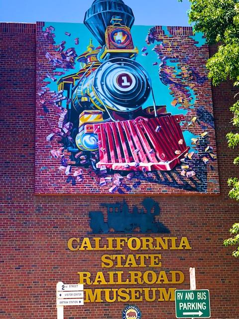 California Train Museum Photos