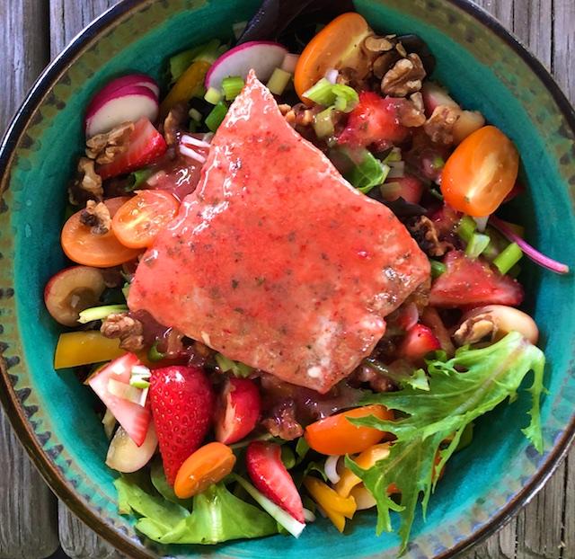 Strawberry Basil Salad Dressing Recipe