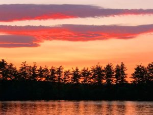 Sunsets on Long Lake (Photos)