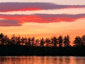 Sunsets on Long Lake (Photos)