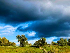 Dramatic October Clouds (Photos)