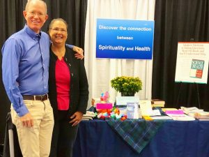 Our Booth at the Health and Wellness Expo