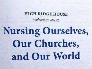 Nursing Our Churches
