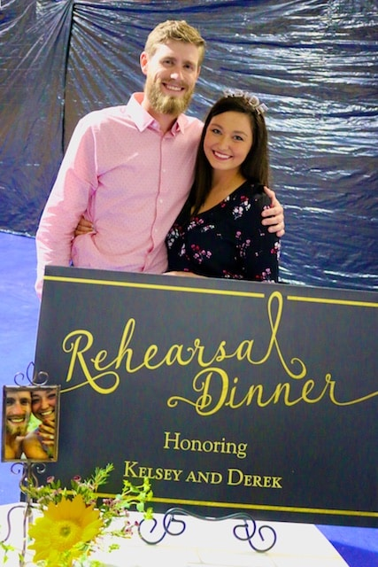 Derek and Kelsey's Rehearsal Dinner and Wedding Day Brunch (Photos)