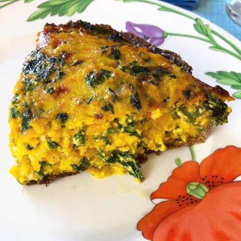 Butternut Squash and Kale Veggie Pie (Recipe)