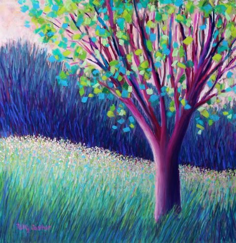 Field of Dreams (New Abstract Landscape by Polly Castor)
