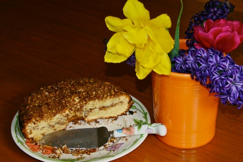 easy Sour cream coffeee cake