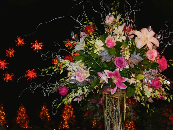 Debutatnte Ball flowers-PollyCastor.com