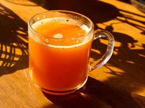 tangerine juice-www.PollyCastor.com