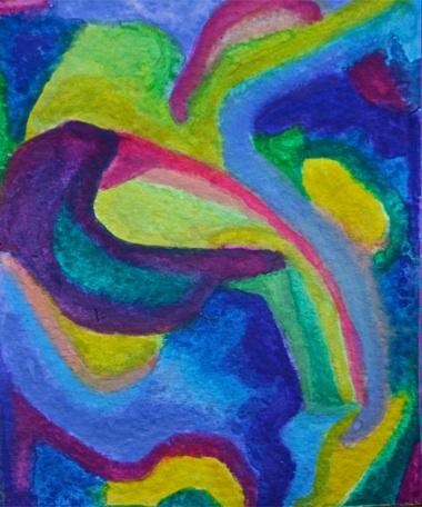 Polly Castor art: abstract