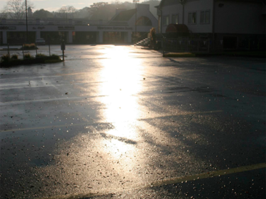 Polly Castor Photography: Rain on the Parking Lot