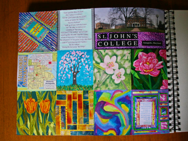Polly Castor: Page a Day Art Journal