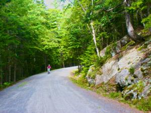 Biking Acadia Carriage Roads