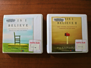 Book Review: This I Believe