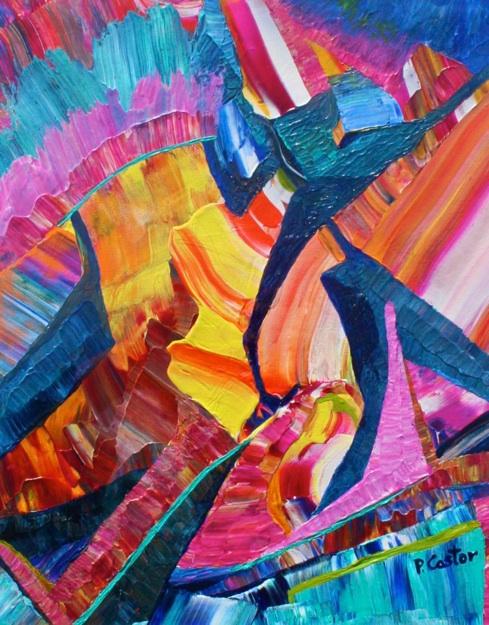 Polly Castor art