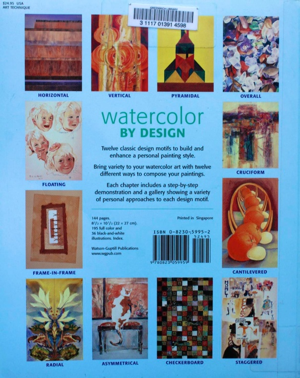 Watercolor by design book