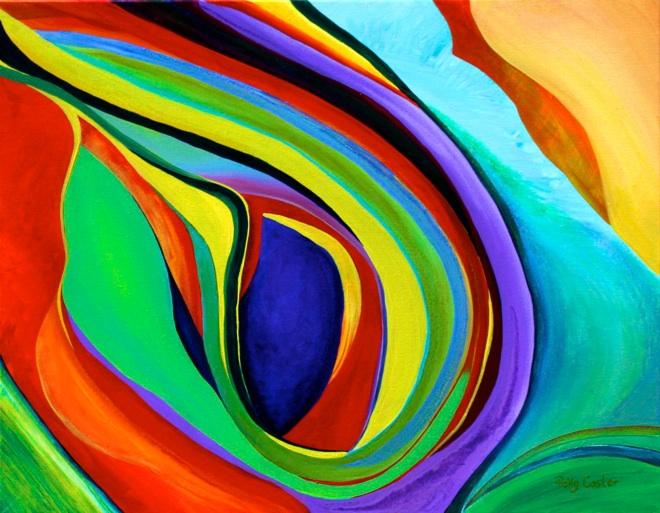 Polly Castor artist, Polly Castor art