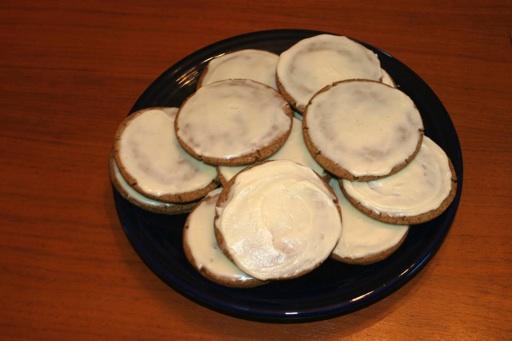 Birthday gingerbread cookies