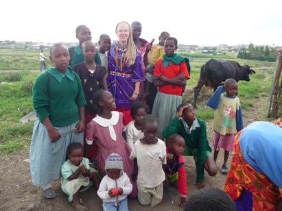 Virginia in Kenya